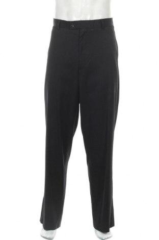 Мъжки панталон Van Heusen, Размер XL, Цвят Син, 71% полиестер, 29% вискоза, Цена 7,09лв.