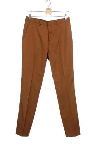 Мъжки панталон WE, Размер M, Цвят Кафяв, 68% полиестер, 32% вискоза, Цена 7,92лв.