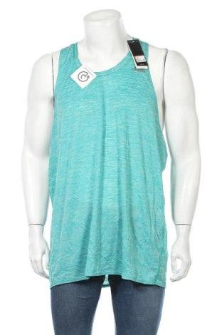 Ανδρική αμάνικη μπλούζα Adidas, Μέγεθος XXL, Χρώμα Πράσινο, Πολυεστέρας, Τιμή 21,95€