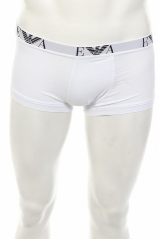 Мъжки боксерки Emporio Armani Underwear, Размер S, Цвят Бял, 95% памук, 5% еластан, Цена 20,80лв.