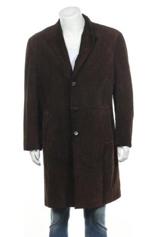 Pánský kožený kabát  Gant, Velikost L, Barva Hnědá, Přírodní velur , Cena  1231,00Kč