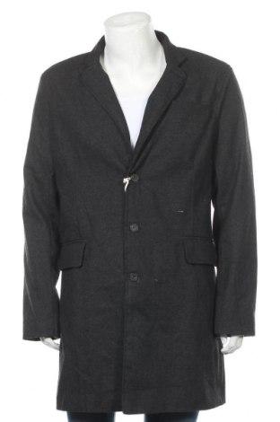 Ανδρικά παλτό Georgio, Μέγεθος XL, Χρώμα Μαύρο, 98% βαμβάκι, 2% ελαστάνη, Τιμή 20,23€