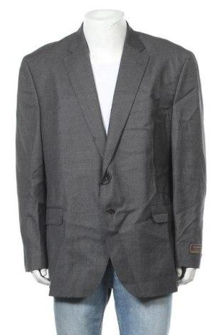 Мъжко сако Cortefiel, Размер XXL, Цвят Сив, 100% вълна, Цена 39,87лв.