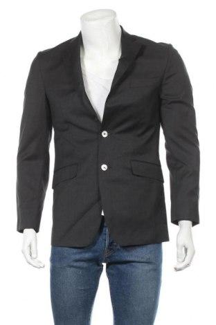 Ανδρικό σακάκι Pedro Del Hierro, Μέγεθος M, Χρώμα Μαύρο, 100% μαλλί, Τιμή 18,70€