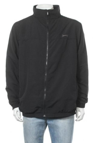 Ανδρικό αθλητικό μπουφάν Slazenger, Μέγεθος XL, Χρώμα Μαύρο, Πολυεστέρας, Τιμή 24,43€