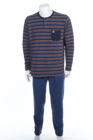 Пижама Massana, Размер L, Цвят Син, 60% полиестер, 40% памук, Цена 31,27лв.