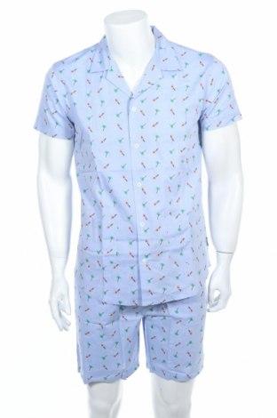 Пижама Springfield, Размер S, Цвят Син, Цена 22,05лв.