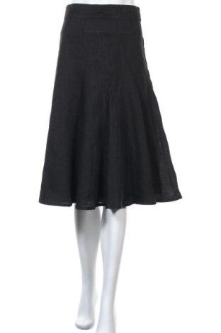 Φούστα Caroll, Μέγεθος XL, Χρώμα Μαύρο, Λινό, Τιμή 12,86€