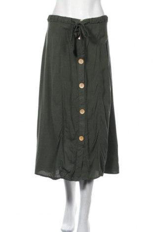 Пола Chicoree, Размер XL, Цвят Зелен, Вискоза, Цена 24,94лв.