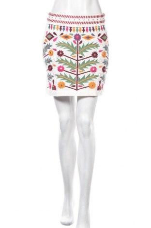 Φούστα Desigual, Μέγεθος M, Χρώμα Λευκό, Βαμβάκι, Τιμή 26,15€