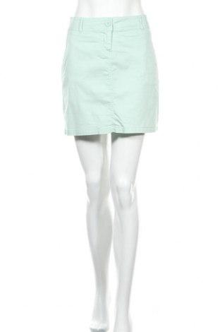 Φούστα Flg, Μέγεθος M, Χρώμα Πράσινο, 97% βαμβάκι, 3% ελαστάνη, Τιμή 4,09€