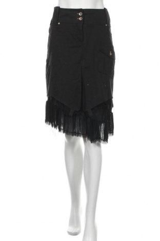 Пола Gaudi, Размер L, Цвят Черен, 45% памук, 40% вискоза, 12% вълна, 3% еластан, Цена 33,00лв.