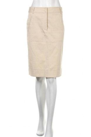 Пола Gerard Darel, Размер S, Цвят Бежов, 97% памук, 3% еластан, Цена 30,14лв.