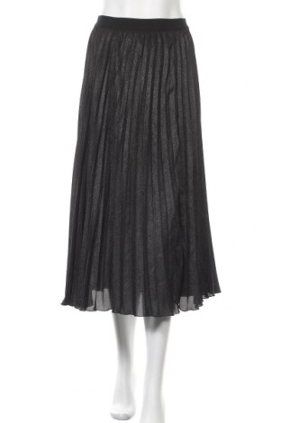 Пола H&M, Размер XS, Цвят Черен, Полиестер, Цена 22,05лв.
