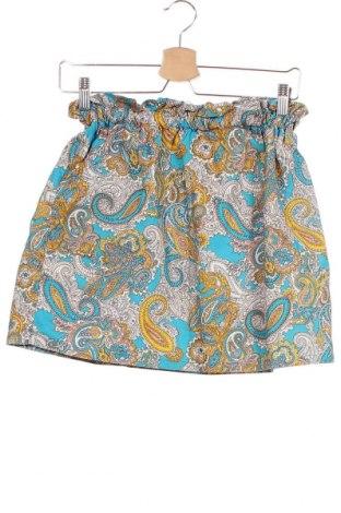 Φούστα H&M, Μέγεθος XS, Χρώμα Πολύχρωμο, Βαμβάκι, Τιμή 11,60€