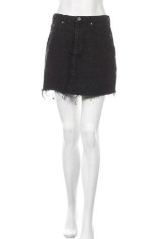 Пола H&M Divided, Размер M, Цвят Черен, Памук, Цена 19,50лв.