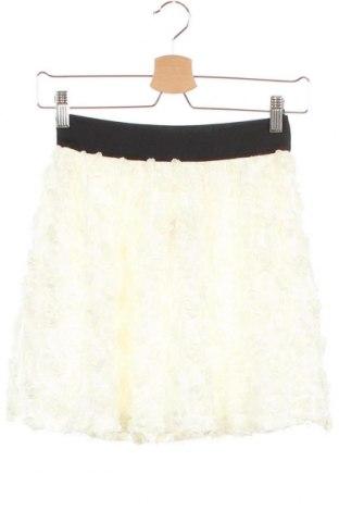 Φούστα H&M Divided, Μέγεθος XS, Χρώμα Λευκό, Πολυεστέρας, Τιμή 3,54€