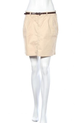 Пола H&M L.O.G.G., Размер M, Цвят Бежов, 97% памук, 3% еластан, Цена 35,70лв.