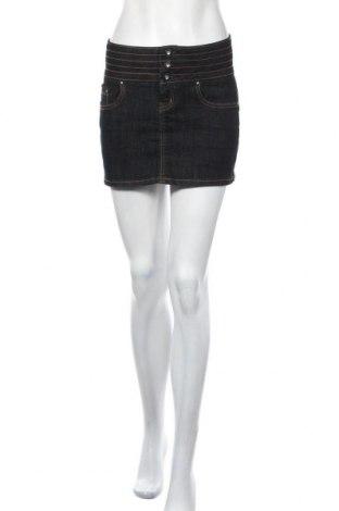 Φούστα Miss Anna, Μέγεθος S, Χρώμα Μπλέ, 98% βαμβάκι, 2% πολυεστέρας, Τιμή 5,00€