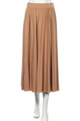 Φούστα Reserved, Μέγεθος S, Χρώμα Καφέ, 95% πολυεστέρας, 5% ελαστάνη, Τιμή 12,53€