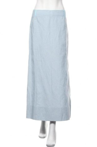 Φούστα Stefanel, Μέγεθος XS, Χρώμα Μπλέ, 50% βαμβάκι, 50% λινό, Τιμή 29,00€