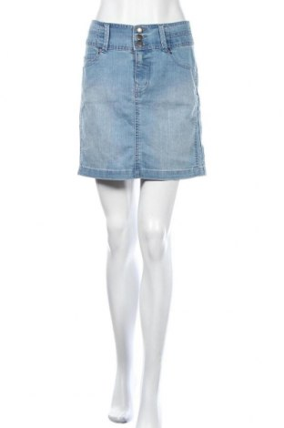 Пола Vero Moda, Размер M, Цвят Син, 70% памук, 30% полиестер, Цена 19,64лв.