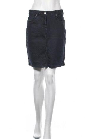 Пола Woman By Tchibo, Размер M, Цвят Син, 98% памук, 2% еластан, Цена 27,30лв.