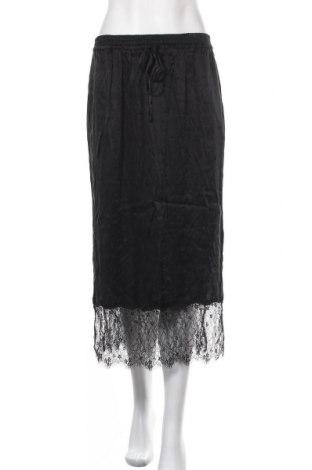 Пола Zara, Размер L, Цвят Черен, Цена 21,84лв.