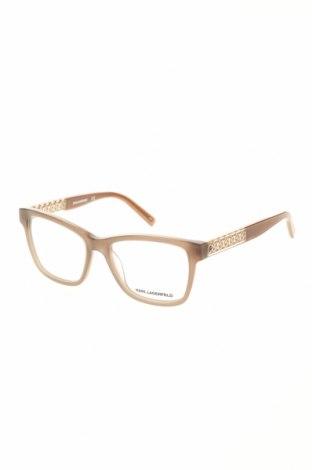 Рамки за очила Karl Lagerfeld, Цвят Бежов, Цена 139,50лв.