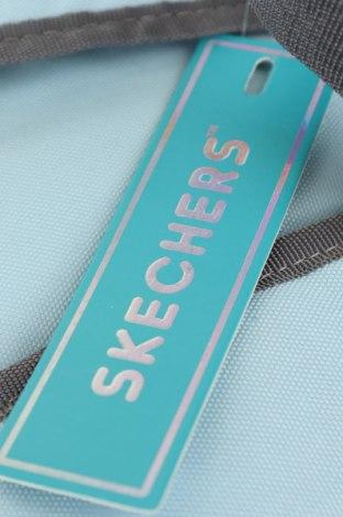 Раница Skechers, Цвят Син, Текстил, Цена 27,60лв.
