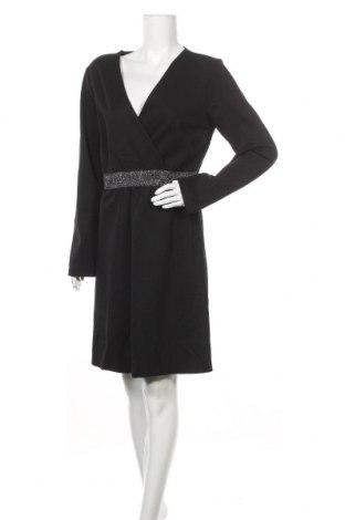 Φόρεμα CAFèNOIR, Μέγεθος XL, Χρώμα Μαύρο, 70% βισκόζη, 27% πολυαμίδη, 3% ελαστάνη, Τιμή 18,85€