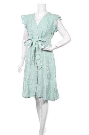 Φόρεμα Dilvin, Μέγεθος M, Χρώμα Πράσινο, Βαμβάκι, Τιμή 24,55€