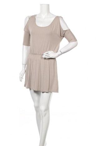 Φόρεμα Fishbone, Μέγεθος S, Χρώμα  Μπέζ, 95% βισκόζη, 5% ελαστάνη, Τιμή 14,36€