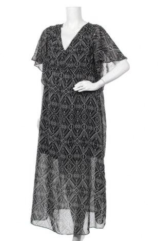 Рокля H&M Mama, Размер XL, Цвят Черен, Полиестер, Цена 16,38лв.