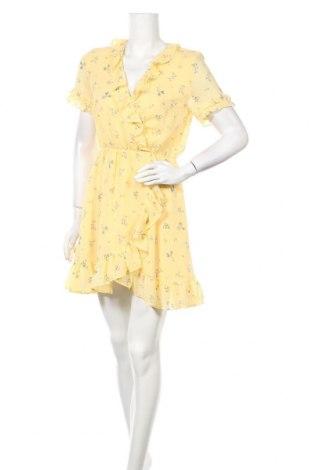 Рокля H&M Divided, Размер M, Цвят Жълт, Цена 24,00лв.