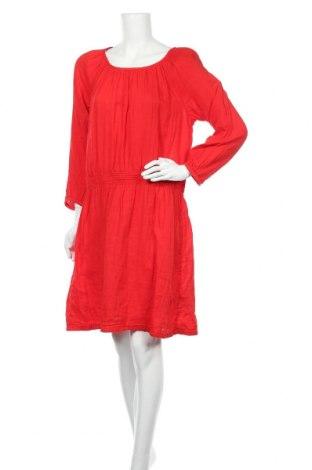 Рокля H&M L.O.G.G., Размер XL, Цвят Червен, Памук, Цена 51,45лв.