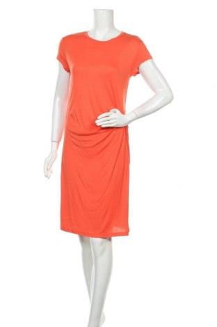 Рокля H&M L.O.G.G., Размер M, Цвят Оранжев, Вискоза, Цена 21,00лв.