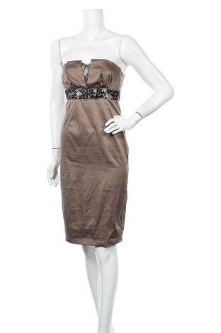 Φόρεμα Lulumary, Μέγεθος S, Χρώμα Καφέ, 41% βαμβάκι, 55% πολυεστέρας, 4% ελαστάνη, Τιμή 6,37€