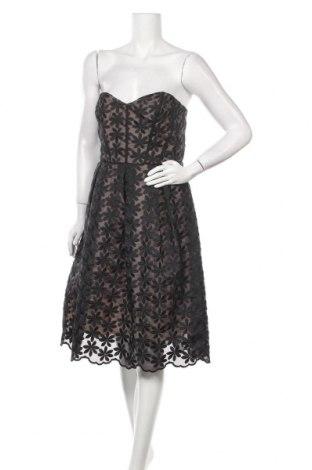 Рокля Miss Selfridge, Размер M, Цвят Черен, 64% полиестер, 36% памук, Цена 60,48лв.