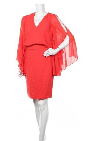 Рокля Sandro Ferrone, Размер S, Цвят Червен, Полиестер, Цена 109,45лв.