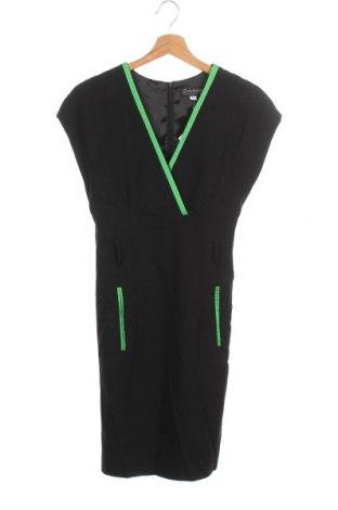 Φόρεμα Solutions, Μέγεθος XS, Χρώμα Μαύρο, 60% πολυεστέρας, 35% βισκόζη, 5% ελαστάνη, Τιμή 7,31€
