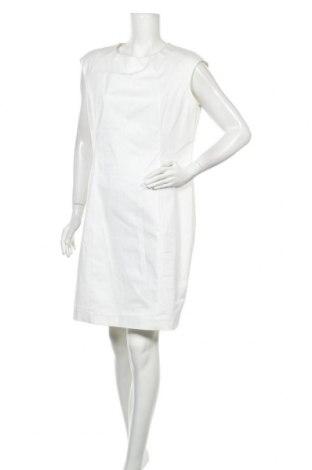 Рокля United Colors Of Benetton, Размер XL, Цвят Бял, 98% памук, 2% еластан, Цена 51,75лв.