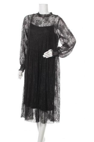 Рокля Vero Moda, Размер XL, Цвят Черен, Полиамид, Цена 51,03лв.