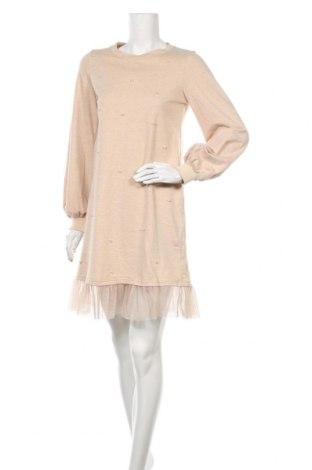 Φόρεμα Yfl Reserved, Μέγεθος S, Χρώμα  Μπέζ, Βαμβάκι, Τιμή 14,72€