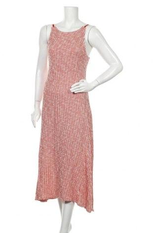 Рокля Zara, Размер M, Цвят Червен, 73% памук, 27% полиестер, Цена 51,75лв.