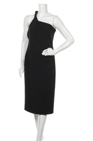 Рокля Zara, Размер L, Цвят Черен, 92% полиестер, 8% еластан, Цена 55,30лв.