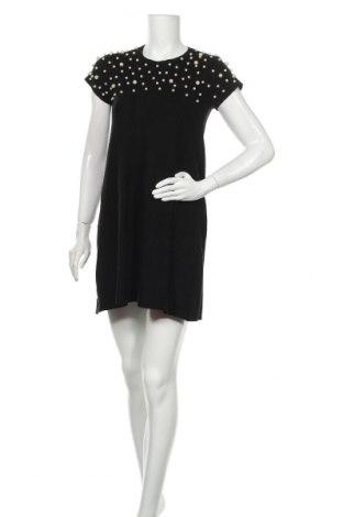 Φόρεμα Zara Knitwear, Μέγεθος M, Χρώμα Μαύρο, 56% βισκόζη, 26% πολυεστέρας, 18% πολυαμίδη, Τιμή 29,88€