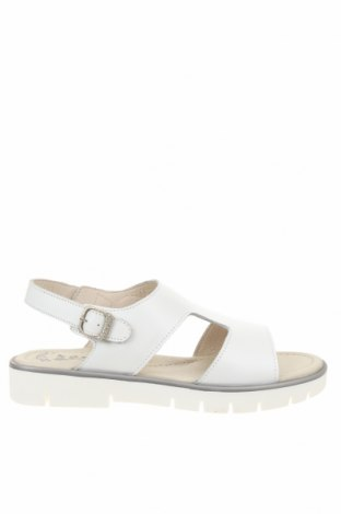 Σανδάλια Garvalin, Μέγεθος 36, Χρώμα Λευκό, Γνήσιο δέρμα, Τιμή 29,82€