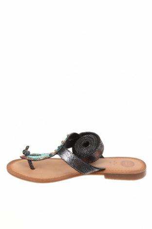 Сандали Gioseppo, Размер 37, Цвят Многоцветен, Естествена кожа, текстил, Цена 66,75лв.
