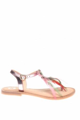 Сандали Gioseppo, Размер 36, Цвят Розов, Естествена кожа, естествени пера, Цена 25,81лв.